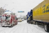У двох областях України через негоду заборонено рух автотранспорту по деяких трасах