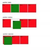 Позиционирование блоков CSS. Абсолютное и относительное позиционирование