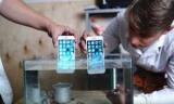 iPhone в аквариуме: Эксперименты с водоотталкивающей жидкости